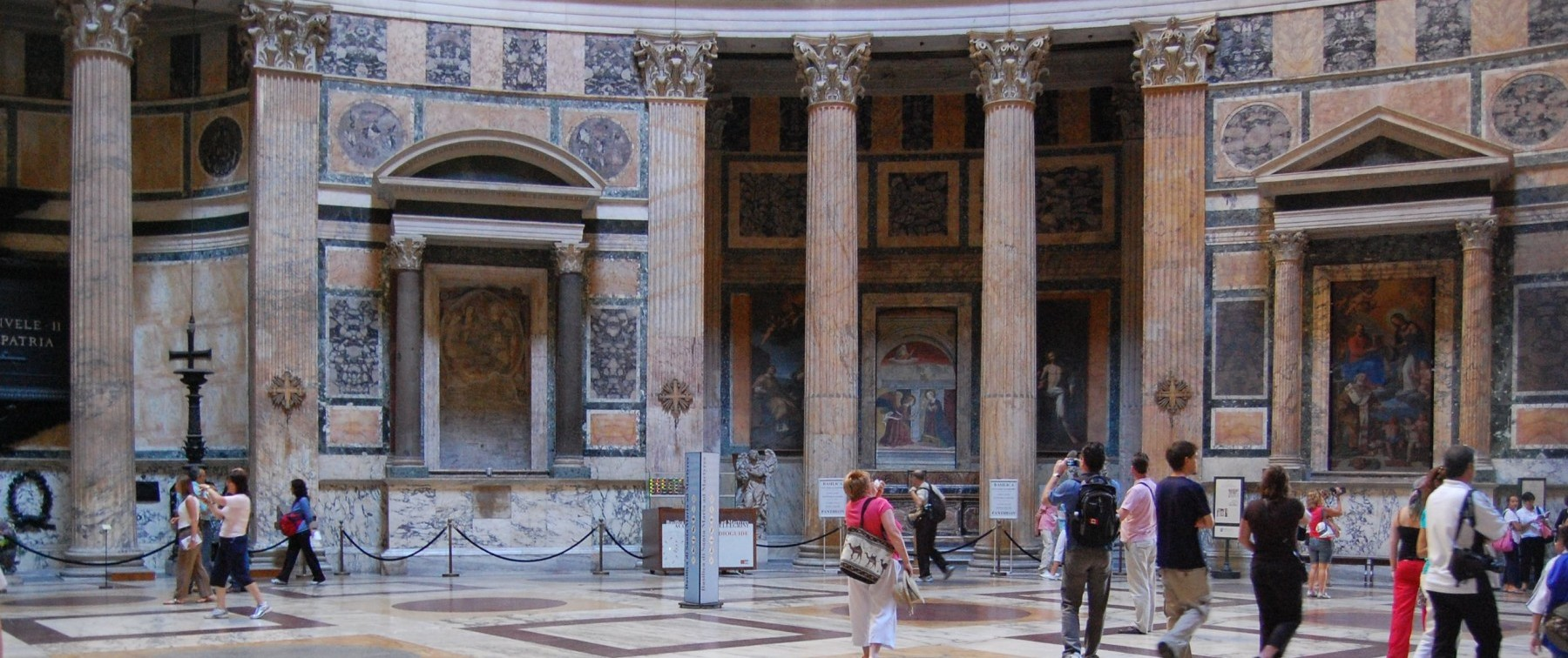 Go inside the Pantheon
