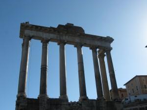 Roman relic in Rome