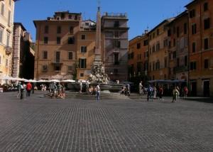 Piazza outside the Pantheon - Piazza della Rotonda