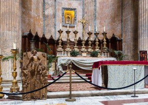 Mass held in the Pantheon