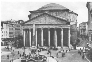 History of Pantheon - old Pantheon